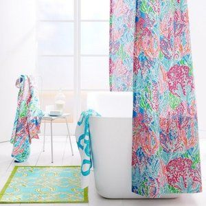 Lilly Pulitzer Lets Cha Cha Shower Curtain